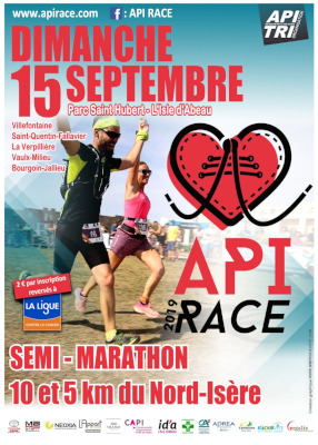 API RACE FLYER RECTOmini